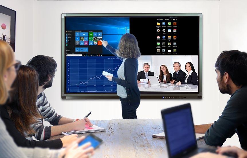 écran interactif professionnel